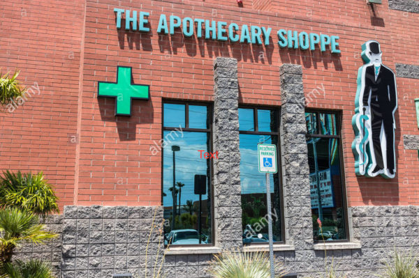 Weedshops, The Apothecary Shoppe
